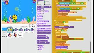 Feeding Frenzy на Scratch часть 4