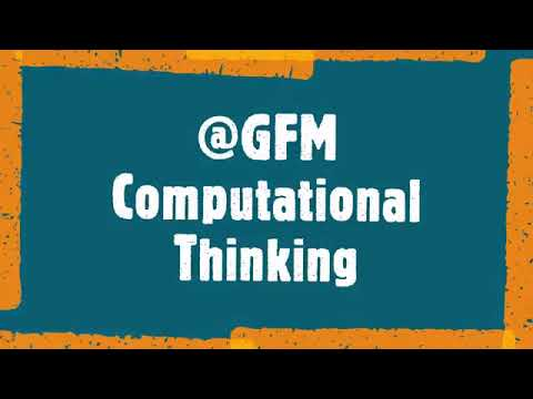 At GFM we always strive to innovate for the future. #ComputationalThinking​ is very important for students and teachers to recognize that #computationalthinking​ is more than just using technology or computer science. It is a mindset, a way of approaching difficult problems and will ensure all learners are exposed to these valuable skills and are able to be successful in our ever-evolving global society.