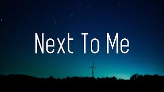 Axel Johansson - Next To Me (Lyrics) [Alan Walker Style
