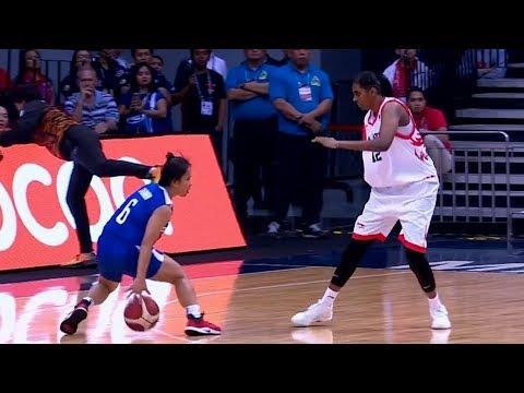 [Sport5]  Highlights: Philippines vs Malaysia | 5X5 Basketball W Prelim Round | 2019 SEA Games