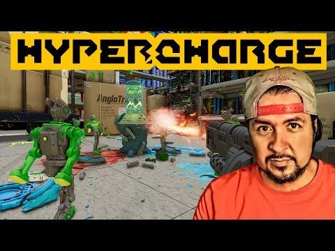Gameplay de Hypercharge Unboxed