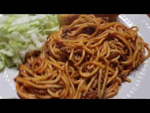 Como hacer  Spaghetti en una sola Olla