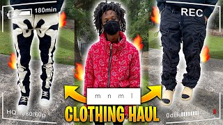 HUGE MNML.LA CLOTHING HAUL 🤯🔥   SPRING 2020 TRY-ON HAUL