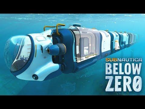 NEW LONGEST SEA TRUCK IN SUBNAUTICA! - Subnautica Below Zero Update!