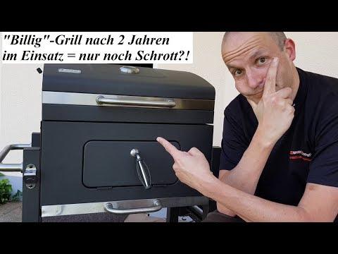 """Tepro Toronto/Landmann Grillchef Grillwagen - """"Billig""""-Grill nach 2 Jahren im Einsatz = Schrott?! 🤔"""