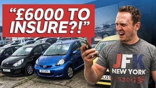 £2000 First Car Challenge (Car + Insurance + Tax)