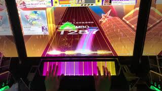 【CHUNITHM】Scarlet Lance ALL JUSTICE 4-0-0 手元