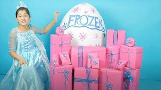 FROZEN ELSA BIRTHDAY MORNING PRESENTS OPENING!🎁🎂  Annas Birthday Surprise FROZEN Surprise Toys