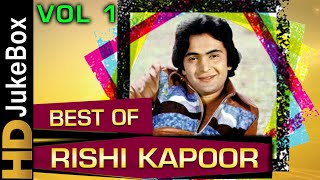Best Of Rishi Kapoor   Bollywood Hit Songs Collection   Evergreen Romantic Songs