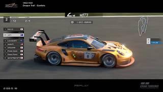 Gran Turismo™SPORT - Dragon Trail Gardens II Porsche RSR Gr3 (online race)