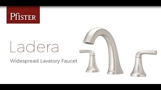 Installing a Ladera Widespread Bathroom Faucet