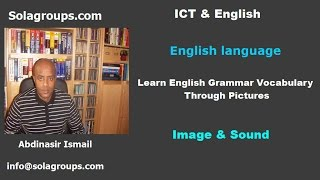 Learn English Grammar Vocabulary Through Pictures