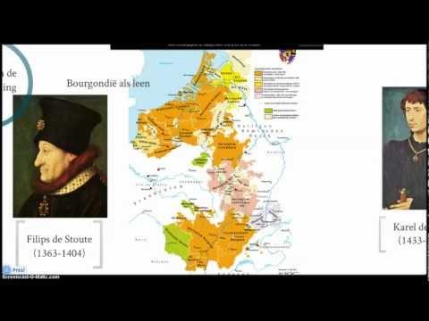 Eindexamen havo 5: paragraaf 1.2 de Nederlanden onder de Bourgondiërs en de Habsburgers