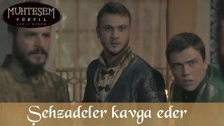 Şehzade Bayezid ile Selim Kavga Eder - Muhteşem Yüzyıl 112.Bölüm
