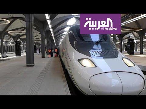 العرب اليوم - شاهد: قطار الحرمين يستأنف رحلاته اليومية بين مكة والمدينة