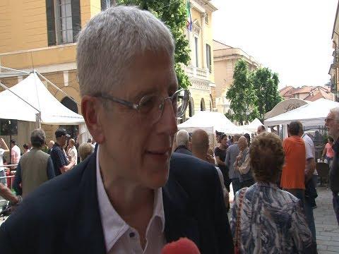 MARIO GIORDANO PRESENTA 'AVVOLTOI' ALLA FIERA DEL LIBRO - L'INTERVISTA