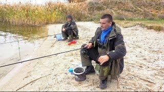 Рыбалка перед ледоставом! ПОПЛАВОК и ФИДЕР на Северском Донце