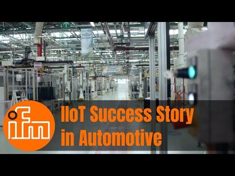ifm Industrie 4.0 Lösungen für zustandsorientierte Wartung im FCA Werk in Verrone