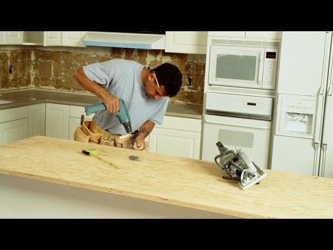 How to make kitchen countertops by yourself