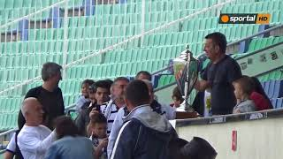 Славия показа спечелената купа на феновете