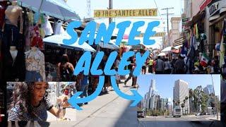 Santee Alley Los Angeles California / Fashion District Vlog