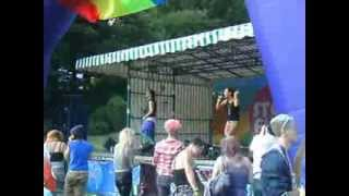 Diva Fever at Stoke Pride 2013 part 1