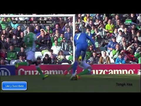 Gol de Cristiano Ronaldo al Betis