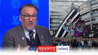 """""""You can't just go out and buy Messi, Mbappe and Neymar"""" - Paul Merson rants about Newcastle United"""