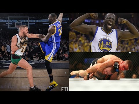 (OOOHHH!!) DRAYMOND GREEN CLAPS BACK AT MCGREGOR!! CLOWNS HIM WITH NATE DIAZ REFERENCE (HEATED!!)