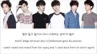 EXO-K - History [Hangul/Romanization/English] Color & Picture Coded HD