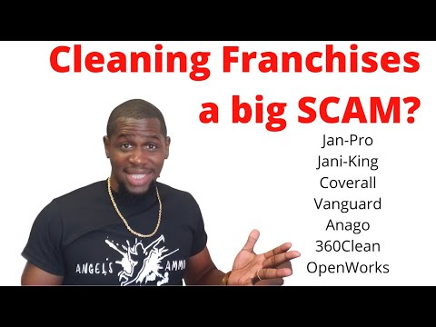 , title : 'Are Cleaning Franchises A Good Investment? (JanPro, Jani-King, Coverall, Vanguard, 360Clean, Anago)