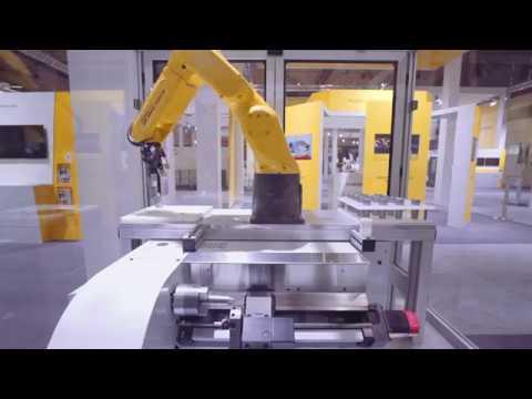 QSSR Robot Control from CNC