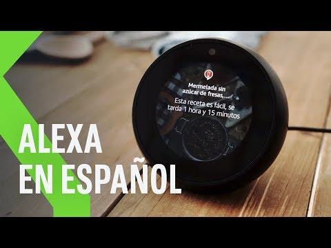 Alexa ya HABLA ESPAÑOL: lo que puedes y no puedes hacer con el asistente de Amazon