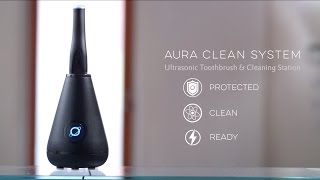 TAO Clean Aura Sonic Toothbrush and Cleaning Station