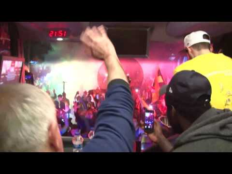 Fenerbahce parties on bus as fans celebrate title