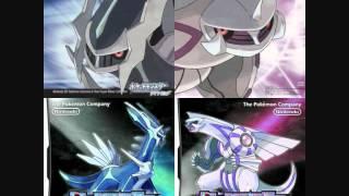 Uxie  - (Pokémon) - Uxie & Mesprit & Azelf Battle - Pokémon Diamond/Pearl/Platinum