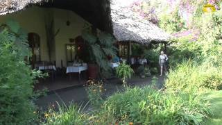 preview picture of video 'Coffee Plantation Lodge, Arusha, Tansania - © Abendsonne Afrika'