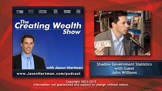 Creating Wealth #251 - Shadow Government Statistics - Guest: John Williams