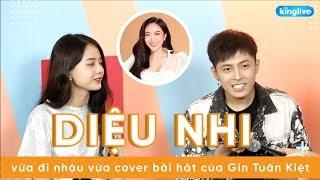 KINGLIVE | Diệu Nhi vừa đi nhậu vừa cover cực lầy bài hát của Gin Tuấn Kiệt