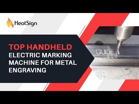 China High-End Handheld marking machine for metal engraving