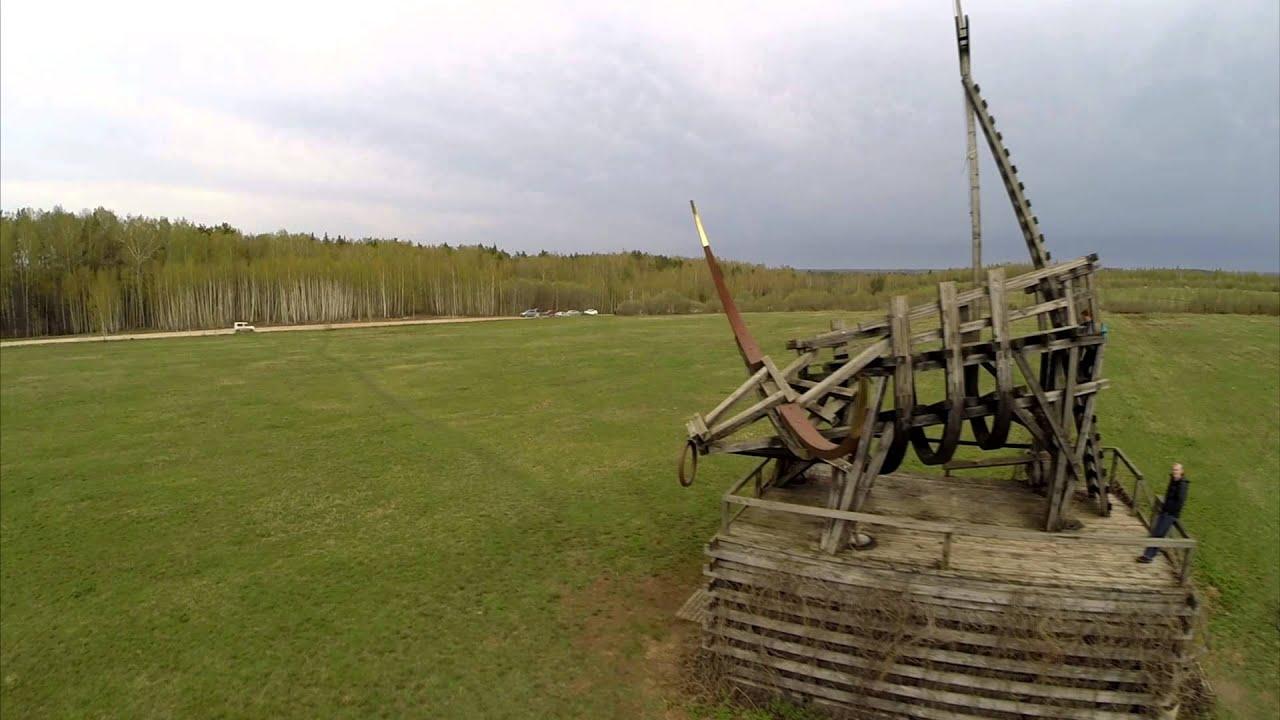 Видео в арт-парке Никола-Ленивец