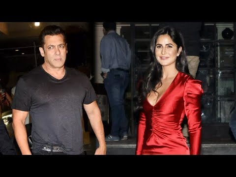 Lovers Katrina Kaif And Salman Khan Together At Ra