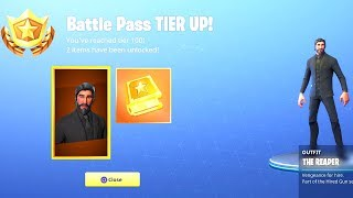 Unlocking John Wick on A Solo Win Fortnite BR Ps4 Tier 100 Battle Pass