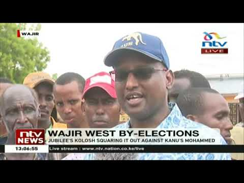 Long queues witnessed in Wajir West by-elections