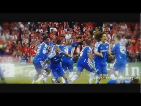 Pha đánh đầu tuyệt vời, quả penalty quyết định của Drogba, và Chelsea vô địch Champions league, xem lại cảm xúc như nguyên, My love Chelsea