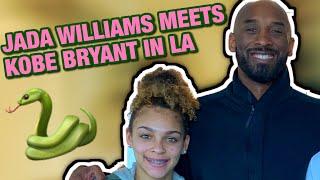 """Jada """"Lil Bullet"""" Williams meets KOBE BRYANT in Los Angeles w/ Grind House Basketball"""