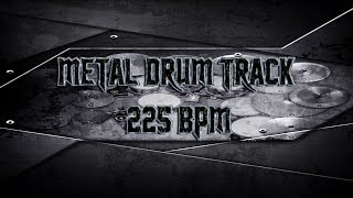 Death Metal Drum Track 225 BPM | Preset 2.0 (HQ,HD)