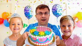डायना और रोमा पिताजी के जन्मदिन के लिए एक सरप्राइज तैयार कर रहे हैं