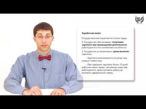 Обществознание (ЕГЭ). Урок 42. Рабочее время. Оплата труда. Регулирование труда несовершеннолетних