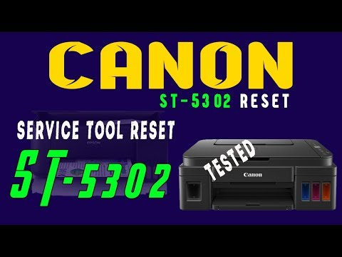 Canon Service Tool